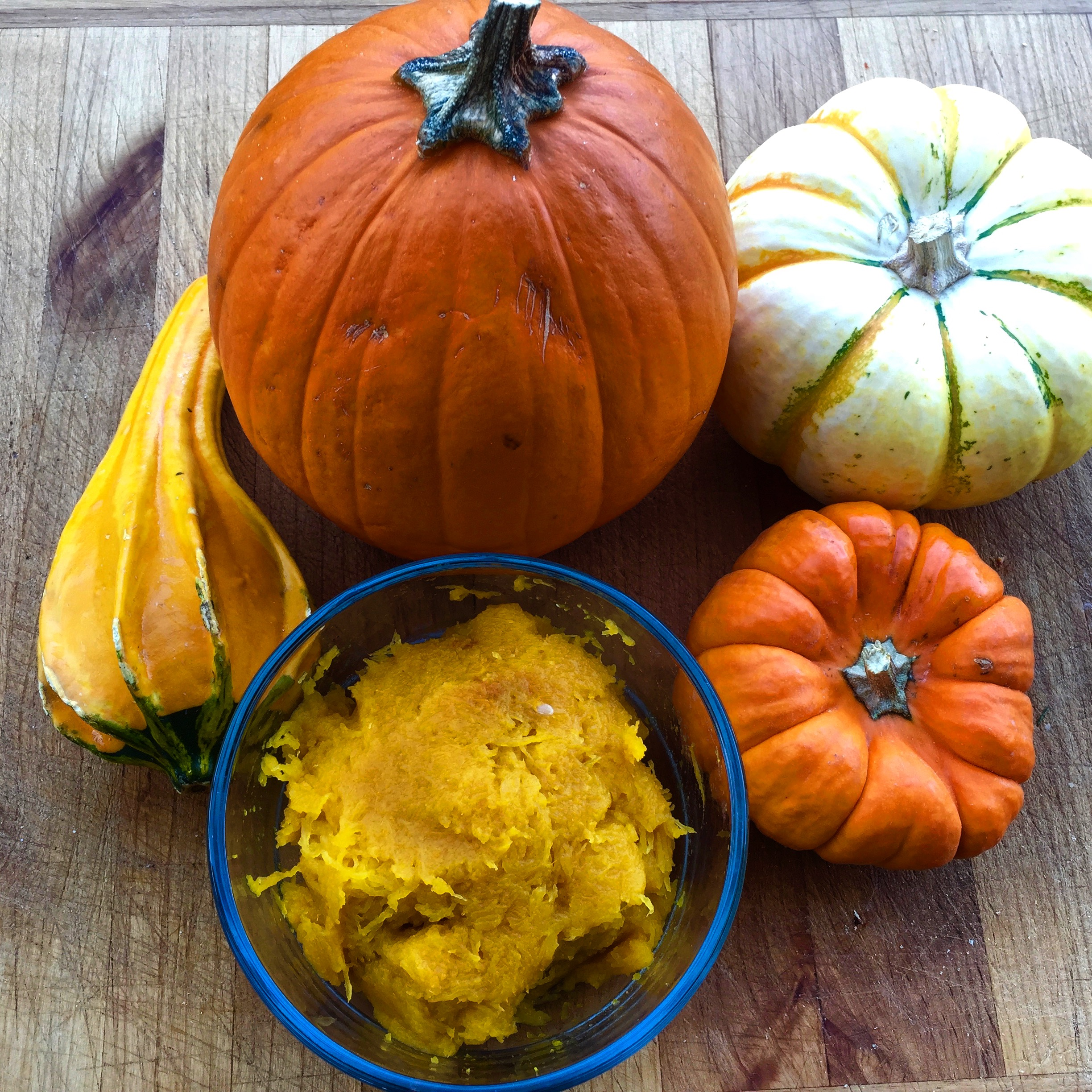 Bake a Pumpkin and Make Pumpkin Puree – the Easiest Way EVER